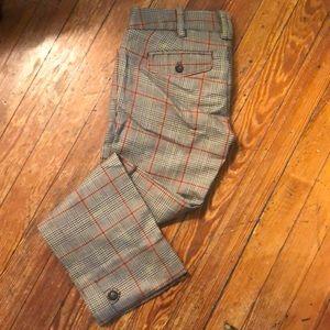 Abercrombie & Fitch plaid pants